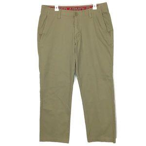 Under Armour Mens Pants 38x30 Beige